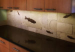 fossil stone tile backsplash 13