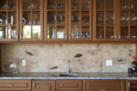 fossil stone tile backsplash 15
