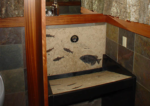 fossil stone sink