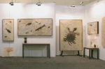 fossil stone murals showroom trade show 1