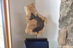 fossilsculptureonbase-1